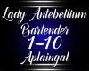 Lady AntebelliumBartende