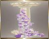 Purple Flower Column