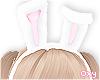 ♡ pink bunny ears