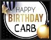 CARB birthday balloons
