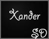 ☪ My Xander's Ring