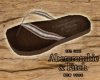 SANDALS LEATHER ABERCROM