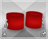 A| Misa Red Anklets (M)