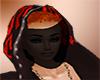 full face dark veil