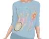 TF* Modest Blue Sweater