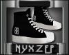BOSS BABE Black Sneakers