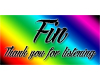 Fin (finished) Banner