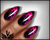 Diva Smoke Effect Nails