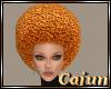 Orange Afro