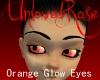 Orange Glow Eyes