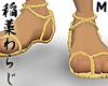 JP waraji bare feet