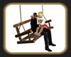 swinging love kiss