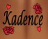 Kadence Back Tattoo F
