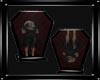 Goth Vampire Coffin 2pos