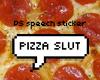 PS speech sticker