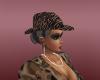 tiger skin hat
