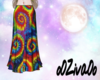 Z || Tie Dye Skirt
