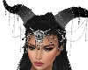 Capricorn Horns Black