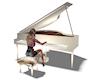 Wearable Piano Elegance