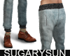 /su/ DENIM JOGGER BLUEGR