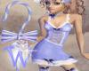 *W* Bo Peep Hook Blue