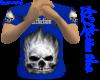 Affliction blue shirt