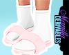 ! Socks in fur slides