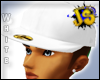 J.S White Fitted Cap [a]