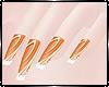 Barbie Girl Nails orange