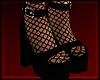 [💋] Platform Blk Sock