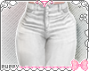 ☾ White Skinny Jeans