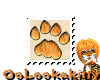 ~Oo Tiger Paw Stamp