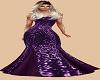 Beautiful Purple Gown