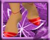 ^VL Red stripe shoes