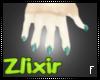 [Zlix]SeaFoam Scaly Paws