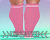 B! Sneakers Socks Pink