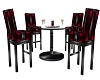 !K! Crimson Table Set