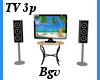 TV & Stand 3p
