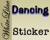 Dancing.... Sticker