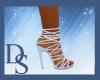 Cobalt Strapped Heels