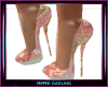 Pink Paisly Glitter Pump