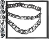 Silver DoubleThick Chain