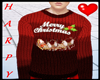 H&Red Christmas Sweater