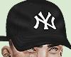 black ny hat