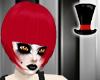 Red Rebecca Hair