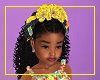 Kids Floral Ruffle Bow