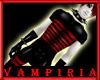 .V. Striped Black Red PV