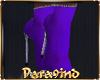 P9)Purple Boots Sexy
