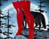 latex super Domin boots
