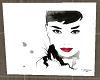 <B> Audrey Hepburn Art 4